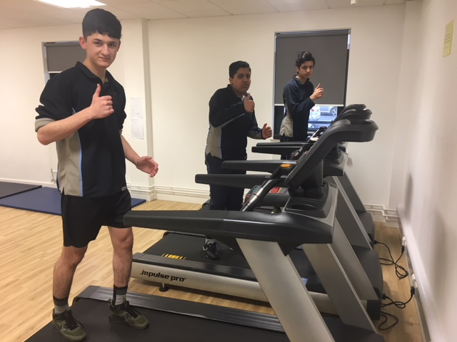 Pupils take on marathon challenge to raise money for cardiac charity
