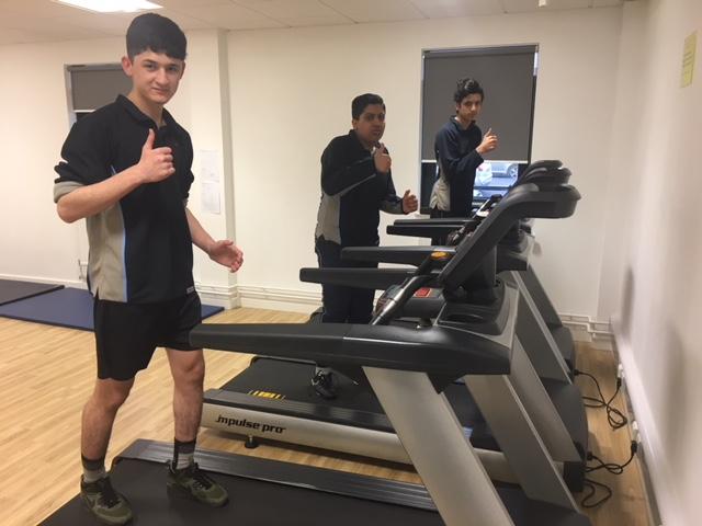 Pupils take on marathon challenge to raise money for cardiac charity