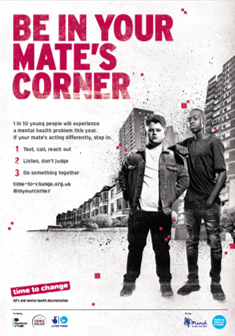 Be in Your Mate's Corner