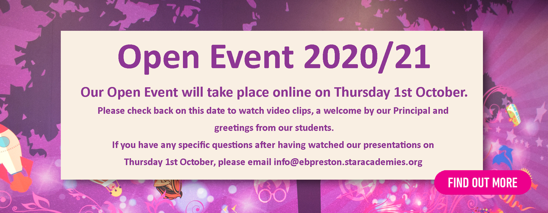 Open Event 2020
